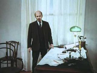 Сцена с Лениным из фильма Государственная граница ( 1 фильм )