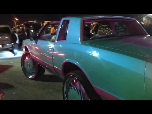 Orlando Classics 2012 - Outrageous Cotton Candy Monte Carlo SS on 30 DUB floaters burnouts