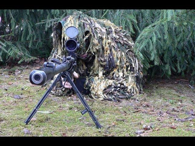 Это произведение оружейного искусства сеет ужас в бою.Снайперская винтовка ОСВ-96
