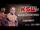 Anzor Azhiev VS Vaso Bakocevic Hghtlights, лучшие моменты боя Анзора Ажиева и Васо Бакоцевича