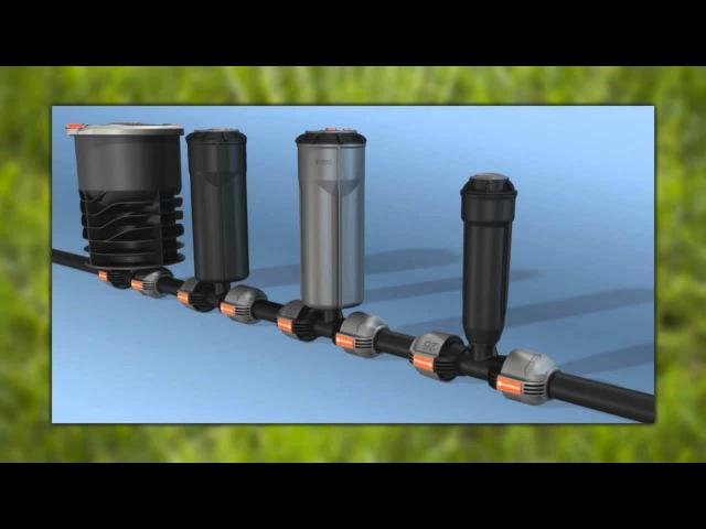 GARDENA Система подземного полива выдвижными дождевателями