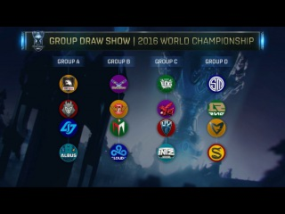 Жеребьевка групп на Чемпионат Мира 2016