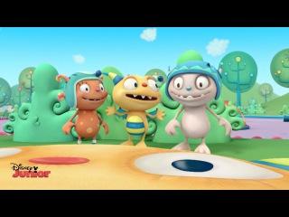 Kids' English | Henry Hugglemonster - Best Friends Song - Official Disney Junior UK HD