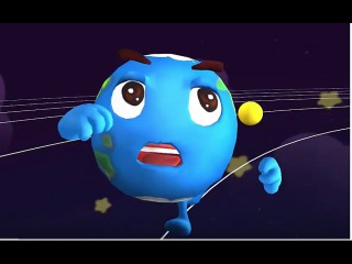 Kids' English   Baby Panda Explore And Learn About The Planets In Our Solar System   Babybus Kids Games