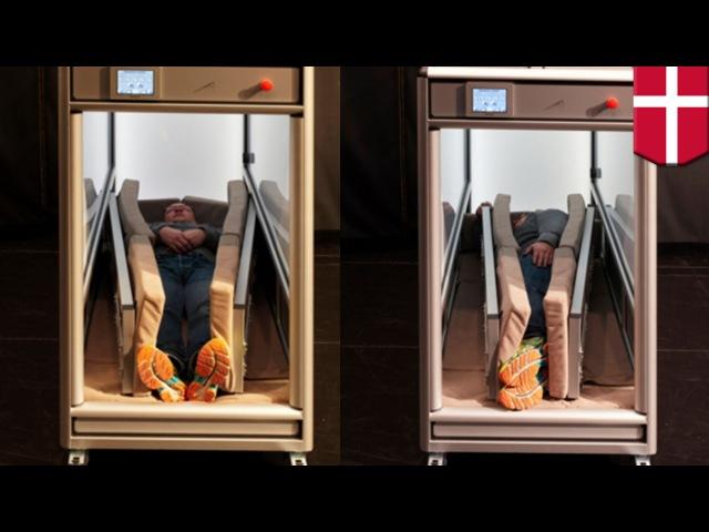 Autism: Danish company designs Orbisbox based on Dr. Temple Grandin's hug machine - TomoNews