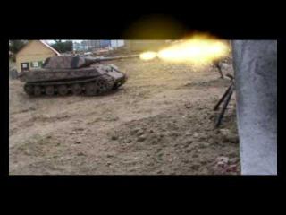 11 March 2010 1/16 RC Model Panzer Tank Meeting Hamburg