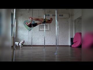 Alyona Seip Dmitry Fedotov William. Summer Pole Fun in Chelyabinsk