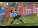 Красивейший момент ЧМ 2010 по футболу в ЮАР Уругвай 1-1 Гана Самое крутое то что Уругвай позже выиграл по серии пенальти
