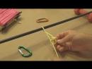 Узлы. Как завязать скользящий бегущий Узел Булинь. Энциклопедия Узлов. Knots knot