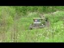 Скаут катает, трасса с отвесным подъемом. День пограничника Застава в ружье Муринский парк 28.5.16