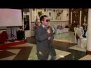 Антон на свадьбе друзей Юрия и Юлии ... в роли Григория Лепса