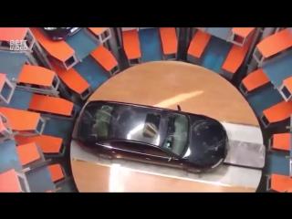 Подземная парковка в Японии