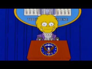 Симпсоны «предсказали» крах США после правления Трампа