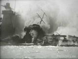 The German pocket battleship Admiral Graf Spee in Montevideo