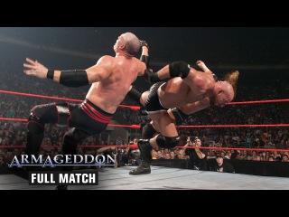 #My1 FULL MATCH  Goldberg vs. Triple H vs. Kane - World Heavyweight Championship Match: Armageddon 2003
