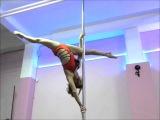 Pole Dance Tutorial - Intermediate - Marion Amber