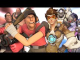 Overwatch vs. Team Fortress 2 - Video Game Rap Battle