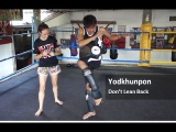 Don't Lean Back On Knees - Yodkhunpon The Elbow Hunter