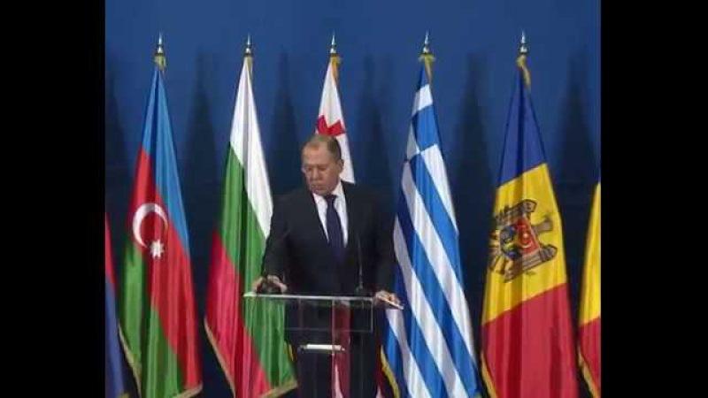 Совместная пресс конференция по итогам 35 заседания СМИД ОЧЭС