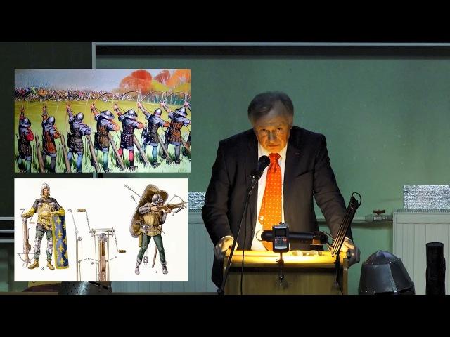 Лекция Олега Соколова Битва при Креси или Черная легенда о рыцарстве, СПбГУ