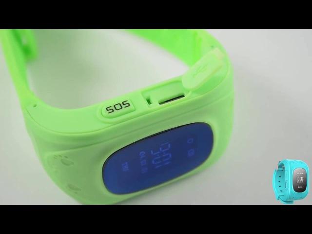 Детские Часы с GPS треккером и телефоном Buldog Watch