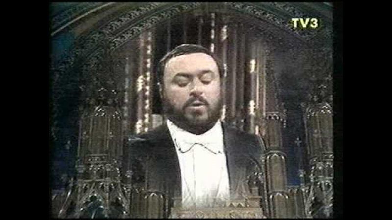 Luciano Pavarotti - Montreal - 1978 - Panis Angelicus (César Franck)