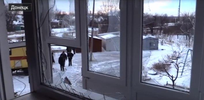 Ночь в Донецке прошла под обстрелами