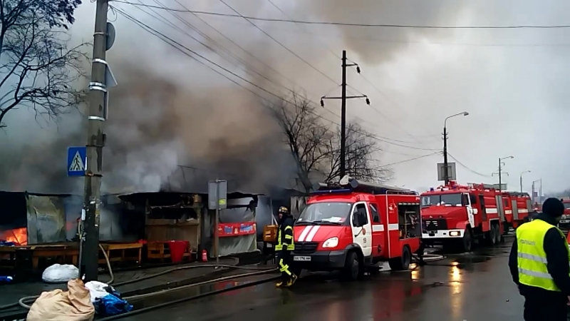 пожар на Лисавой 25.12.2016