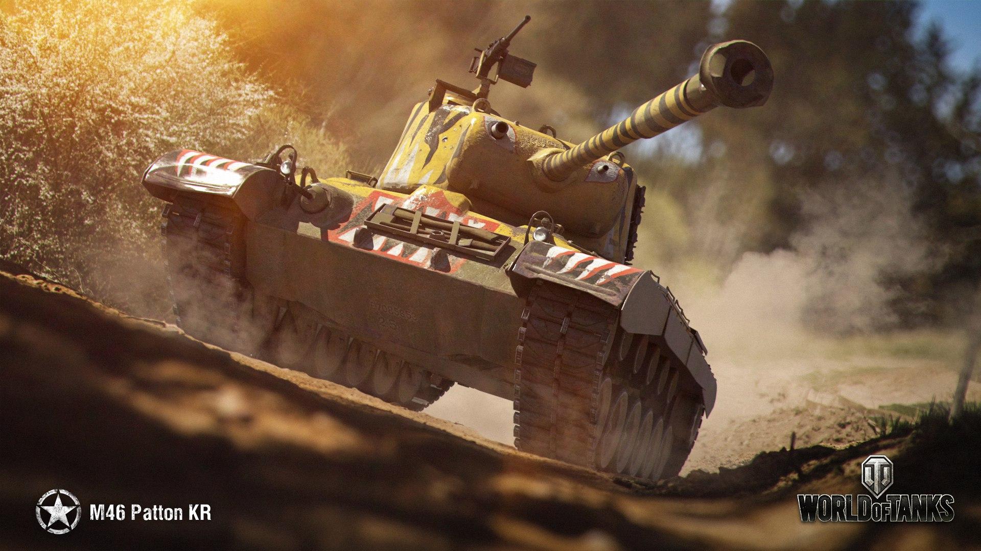 рисунок M46 Patton KR