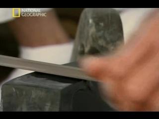 изготовление самурайского меча-катана