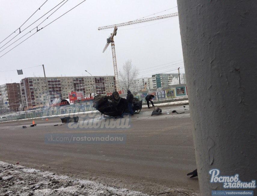 Женщину с сыном вколяске сбил шофёр иномарки вРостове