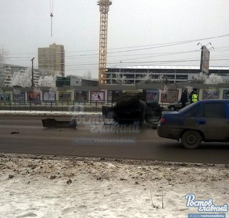 ВРостове-на-Дону легковушка сбила женщину с сыном