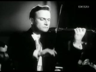Феликс Мендельсон. Концерт для скрипки с оркестром ми минор, соч. 64. Иегуди Менухин