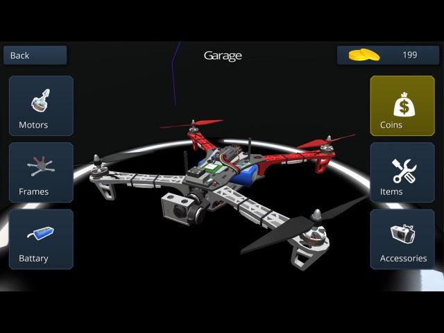Multirotor Sim NG - Upgrade Parts concept