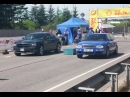 Audi RS2 Avant 2.2t vs Dodge Charger R/T 5.7 Hemi ♔Quattro Family Club♔