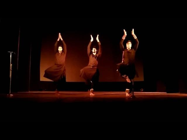Kathak Dance on Shiv Tandav Stotra choreographed by Shibayan Ganguly