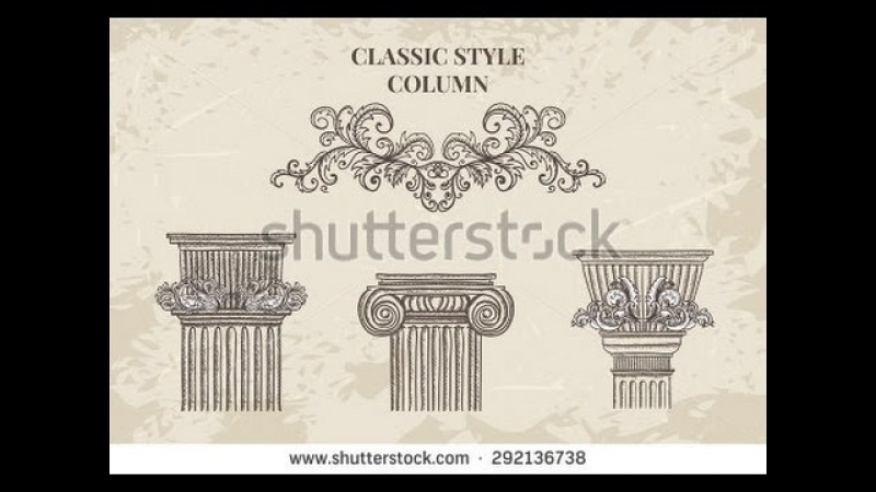 Моделирование классической колонны - 1