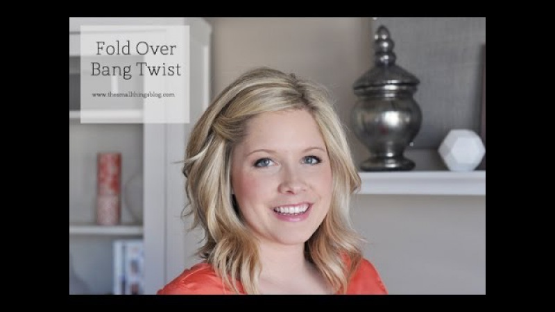 Fold Over Bang Twist Tutorial