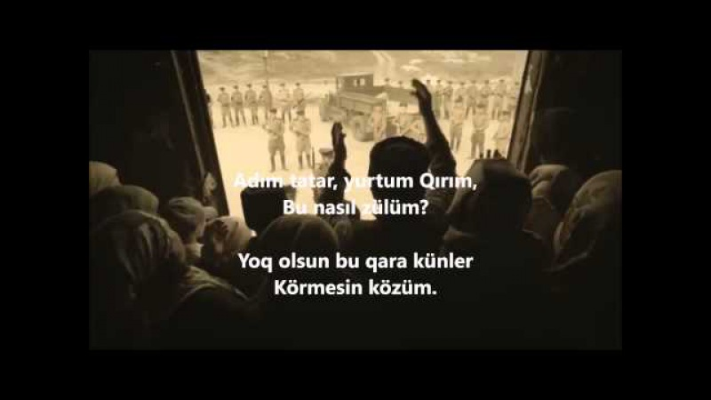 Alim Osmanov – On sekiz mayıs gecesinde (18 мая 1944 - день депортации крымцев)