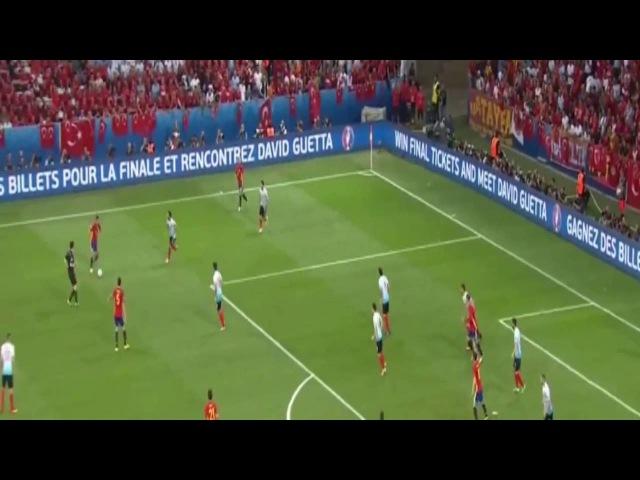 İspaniyanın 1 - ci qolu ( Morata 34 )