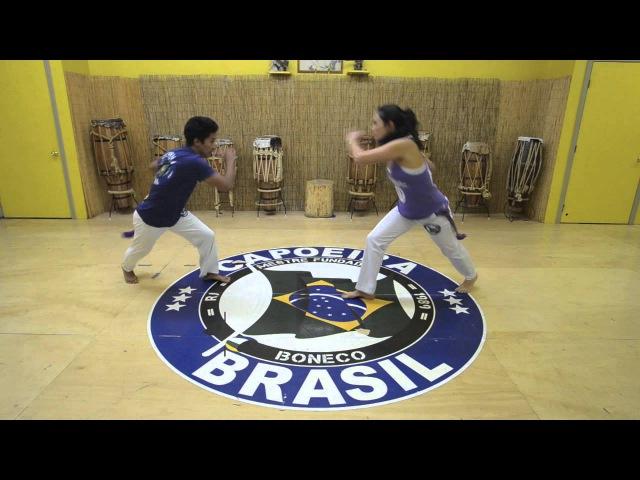 Mestre Boneco's Sequence 6 : Capoeira Brasil Los Angeles
