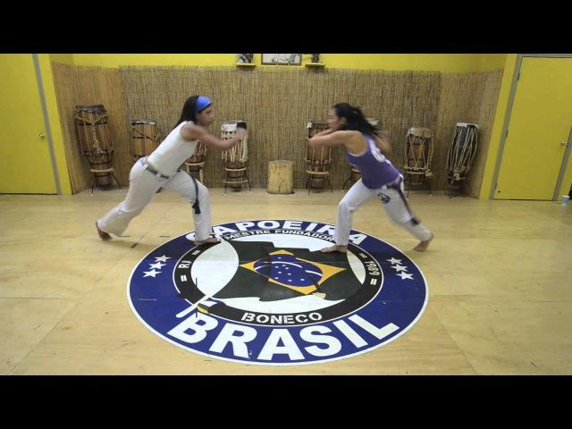 Mestre Boneco's Sequence 2 : Capoeira Brasil Los Angeles