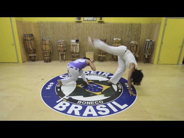 Mestre Boneco's Sequence 1 : Capoeira Brasil Los Angeles
