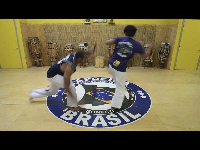 Mestre Boneco's Sequence 5 : Capoeira Brasil Los Angeles