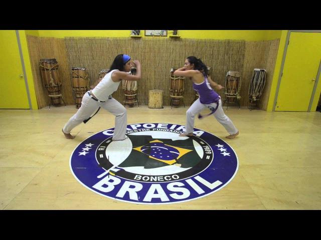 Mestre Boneco's Sequence 3 : Capoeira Brasil Los Angeles