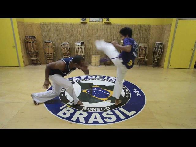 Mestre Boneco's Sequence 4 : Capoeira Brasil Los Angeles