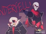 Underfell Papyrus AMV(Music Video)Skillet)Monster Nightcore
