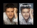 Обработка мужского портрета в стиле журнала Esquire в Фотошоп