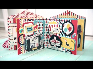 Pop-up album by Nadya Lifa ( Carta Bella - Circus Party)