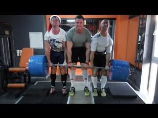 Новогодняя становая тяга 700 кг Команда СКНосорог.